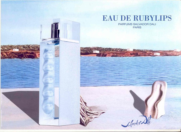 Salvador dali rubylips for women eau de toilette spray 100 ml / 34 oz